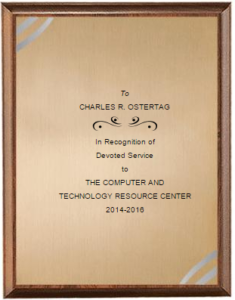 Ostertag plaque